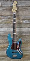 Fender  American Elite Jazz Bass® V - Ocean Turquoise