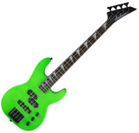 Jackson JS Series Bass Minion JS1X 4-String - Neon Green