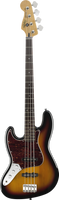 Squier Vintage Modified Jazz Bass Left Handed 3-Color Sunburst
