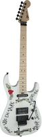 Charvel Warren DeMartini USA Signature Frenchie Electric Guitar (with Case), White