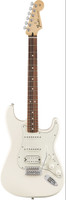 Fender Standard Stratocaster HSS - Arctic White with Pau Ferro Fingerboard