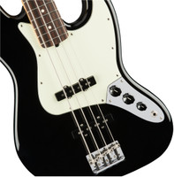 Fender American Professional Jazz Bass - Black with Maple Fingerboard