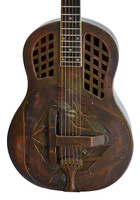 "Republic Tricone style #207 ""12-Fret"" Resonator - Antique Copper Rust"