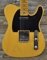 Fender Custom Shop '52 Telecaster Flash Coat Relic - Butterscotch Blonde