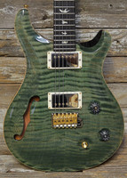 PRS Wood Library Custom 22 Semi-Hollow 10-Top, Trampas Green