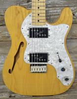 Used Fender '72 Reissue Thinline Telecaster - Natural