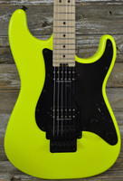 Used Charvel Pro Mod So-Cal Style 1 HH FR - Neon Yellow