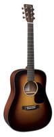 Martin DJR-10 Burst Acoustic Guitar W/Bg