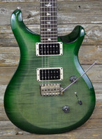 PRS S2 Custom 24, Quilt Top, Ebony Fretboard - Moss Green