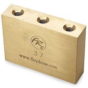 Floyd Rose FROFTB37 Original Fat Brass Tremolo Block, 37mm W