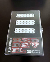 Seymour Duncan Billy Gibbons Red Devil Electric Guitar Pickup Set, White