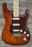 Fender Rarities Flame Maple Top Stratocaster - Golden Brown