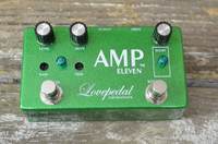 Lovepedal Amp Eleven 11 Overdrive Boost Pedal - Green Sparkle