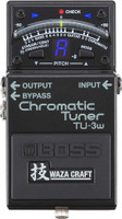 Boss TU-3W Waza Craft Chromatic Tuner with Bypass
