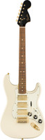 Fender Limited Edition Mahogany Blacktop Strat in Opal White w/ 3 Humbuckers