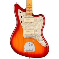 Fender American Ultra Jazzmaster - Plasma Red Burst with Maple Fingerboard