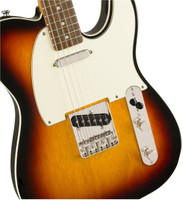 Squier Classic Vibe '60s Custom Telecaster Electric Guitar, with Laurel Fingerboard, 3-Color Sunburst