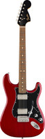 Fender LTD Mahogany Blacktop Strat - Crimson Red Transparent