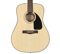 Fender CD-60 Acoustic Guitar Natural with Case