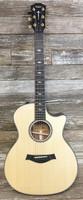 Taylor Guitars NAMM Limited Edition 814ce LTD Cocobolo/Lutz Spruce Grand Auditorium Guitar