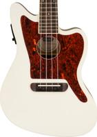 Fender Fullerton Jazzmaster Uke - Olympic White