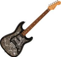 Fender FSR Black Paisley Stratocaster Made in Japan with Gig Bag