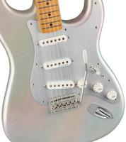 Fender H.E.R. Stratocaster Electric Guitar (with Gig Bag), Chrome Glow