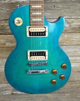 2016 Gibson Gibson Les Paul Studio Deluxe IV - Caribbean Night W/Cs