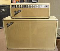 Cons. 1963 Fender Bassman Head and 212 Cab