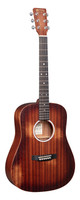 Martin DJr-10E StreetMaster Acoustic-Electric Guitar (with Gig Bag)