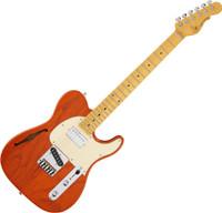 G&L Tribute ASAT Classic Bluesboy Semi-Hollow - Orange