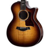 Taylor 314ce LTD V-Class Quilted Sapele and Torrefied Sitka Spruce