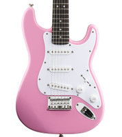 Fender Squier Affinity Mini Stratocaster Electric Guitar - Pink