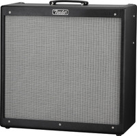 Fender Hot Rod DeVille 410 III Guitar Amplifier, 120V, Black