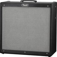 Fender Hot Rod DeVille 410 III Guitar Amplifier, 120V, Black