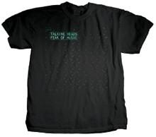 Talking Heads Fear of Music Album Cover Artwork Men's Black T-shirt