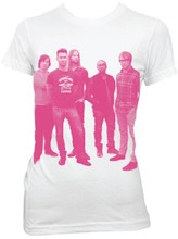 Maroon 5 Band Member Photograph Women's White T-shirt