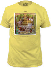 Genesis Selling England by the Pound Album Cover Artwork Men's Yellow T-shirt