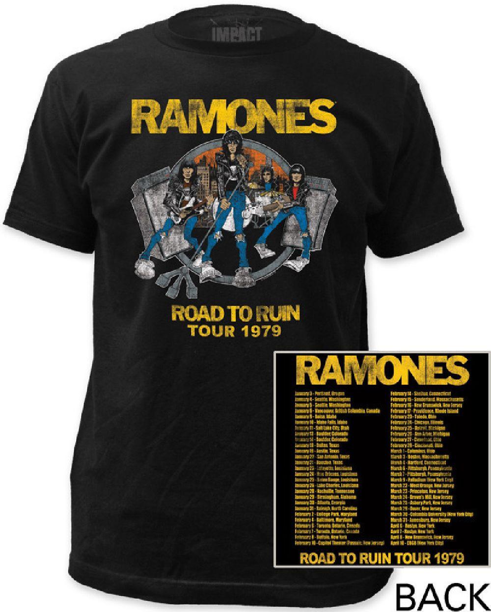 Vintage Rock Tour T Shirts 47