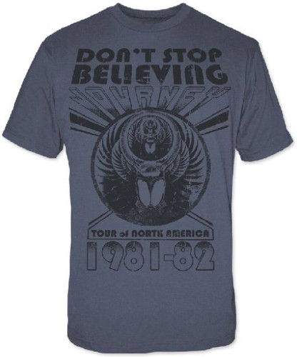 Journey Don't Stop Believing Tour Men's Concert T-shirt | Rocker Rags