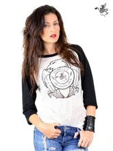 Corello Freedom Eagle Logo Live Inside Our Minds Slogan Unisex Raglan T-shirt