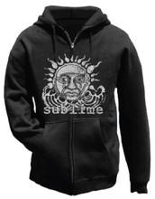 Sublime 40 Oz. To Freedom Album Cover Artwork Black Hoodie Sweatshirt