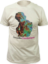 New Order Technique Album Cover Artwork Men's White T-shirt