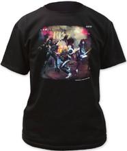 KISS Alive! Album Cover Artwork Men's Black T-shirt