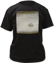 Genesis Wind and Wuthering Album Cover Artwork Men's Black T-shirt
