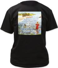Genesis Foxtrot Album Cover Artwork Men's Black T-shirt