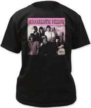 Jefferson Airplane Surrealistic Pillow Album Cover Artwork Men's Black T-shirt