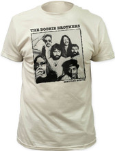 The Doobie Brothers Minute by Minute Album Cover Artwork Men's White Vintage T-shirt