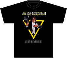 Alice Cooper Welcome to My Nightmare Album Cover Artwork Men's Black T-shirt