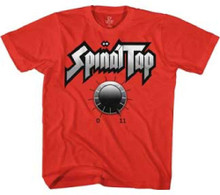 Spinal Tap Amplifier Knob Reaching 11 Men's Red T-shirt